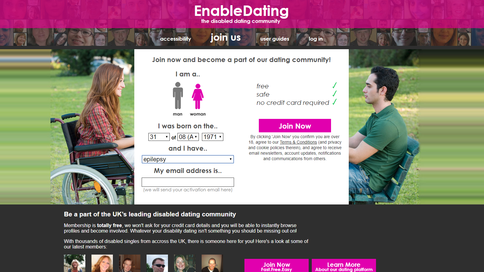 New and free dating site online