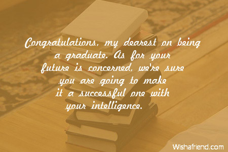 A message to my daughter on her graduation