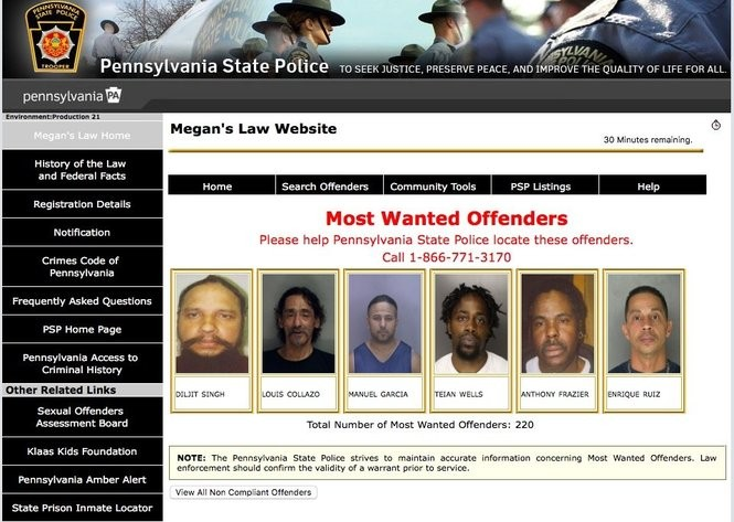 Patrick county va sex offender website