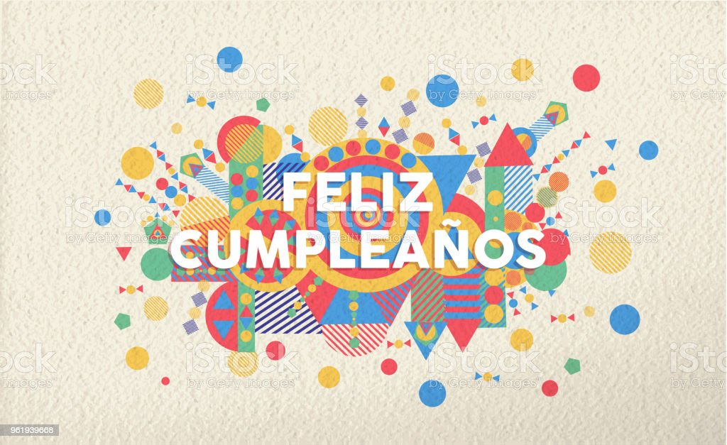 Happy birthday and many more in spanish
