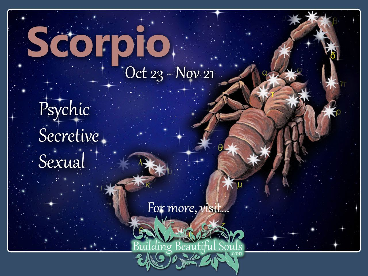 Scorpio man truly in love