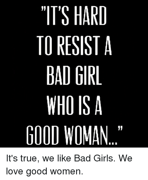 Who is bad girl