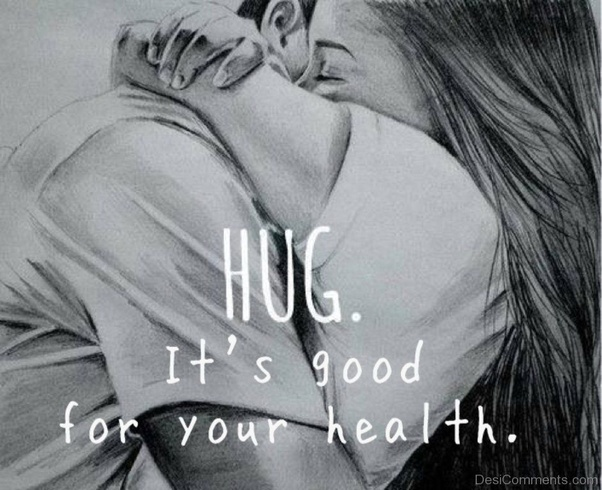 How to go in for a hug
