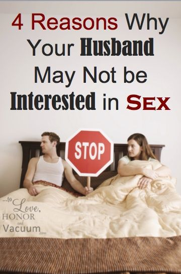 Husband is not interested in sex