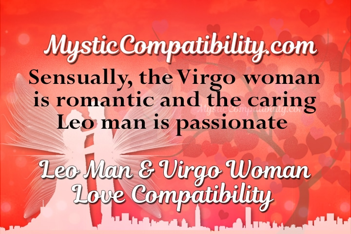 Leo man and virgo woman