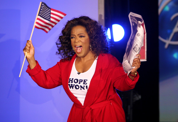 Is oprah going to run for president