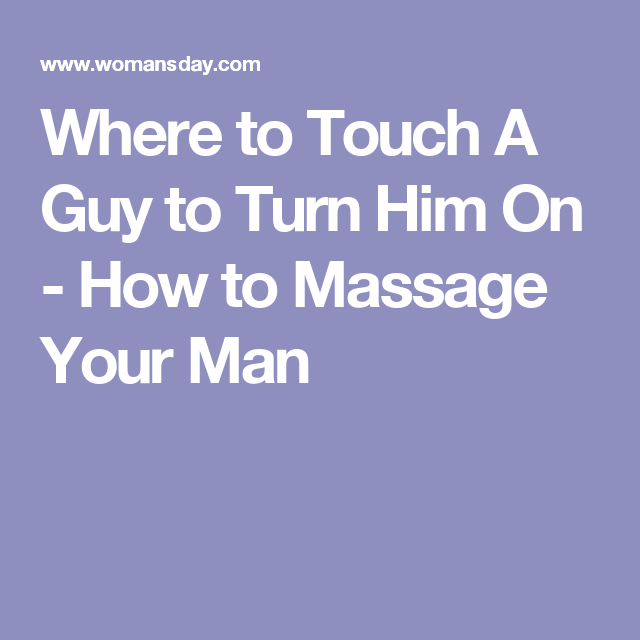 Text a man to turn him on