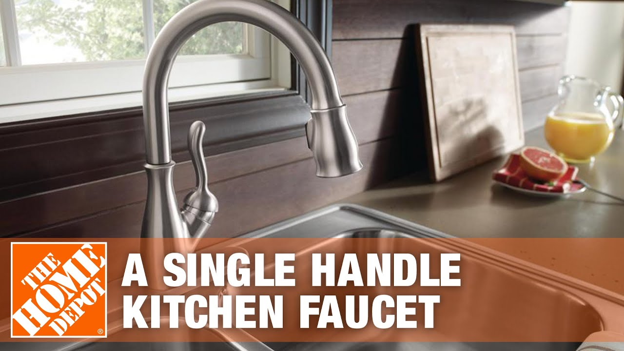 How to remove delta kitchen faucet