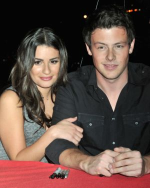 Is rachel and finn from glee dating in real life