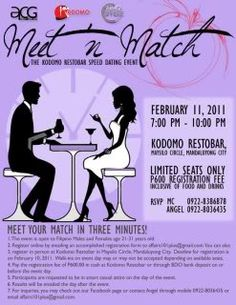 Speed dating color match