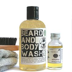 Diy beard wash