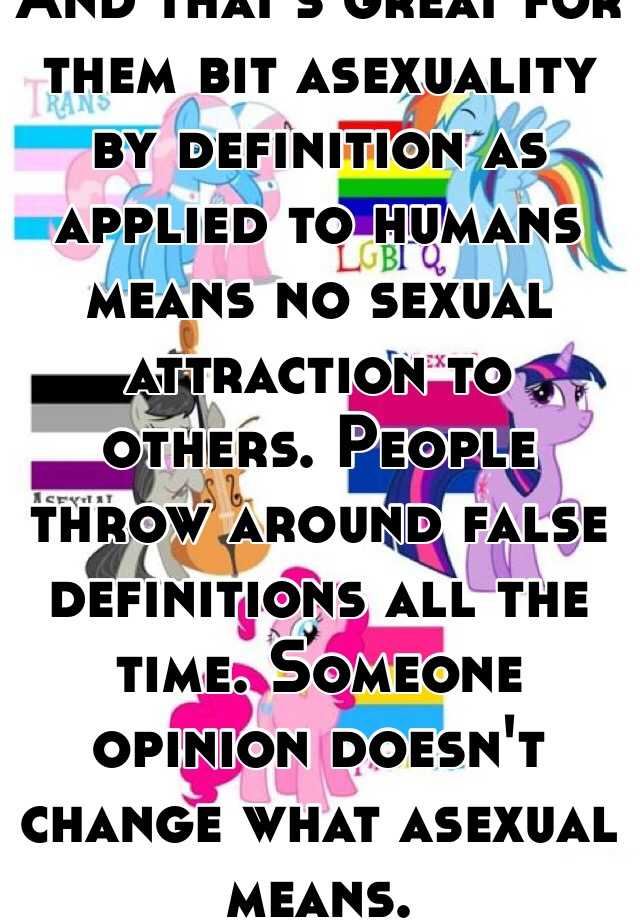 Asexual definition in humans