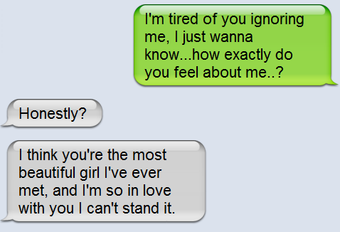 What to say to a girl that you really like