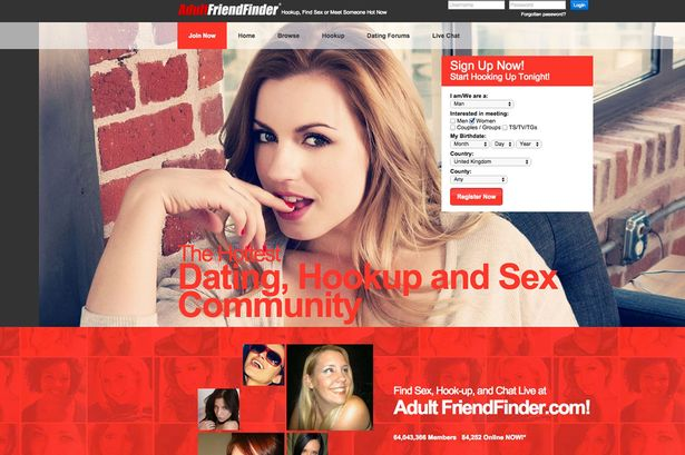 Adult friendfinder gave out personal