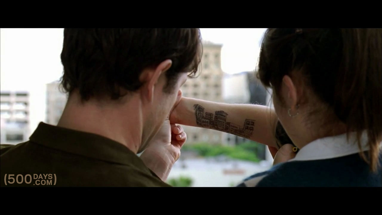 500 days of summer tattoo