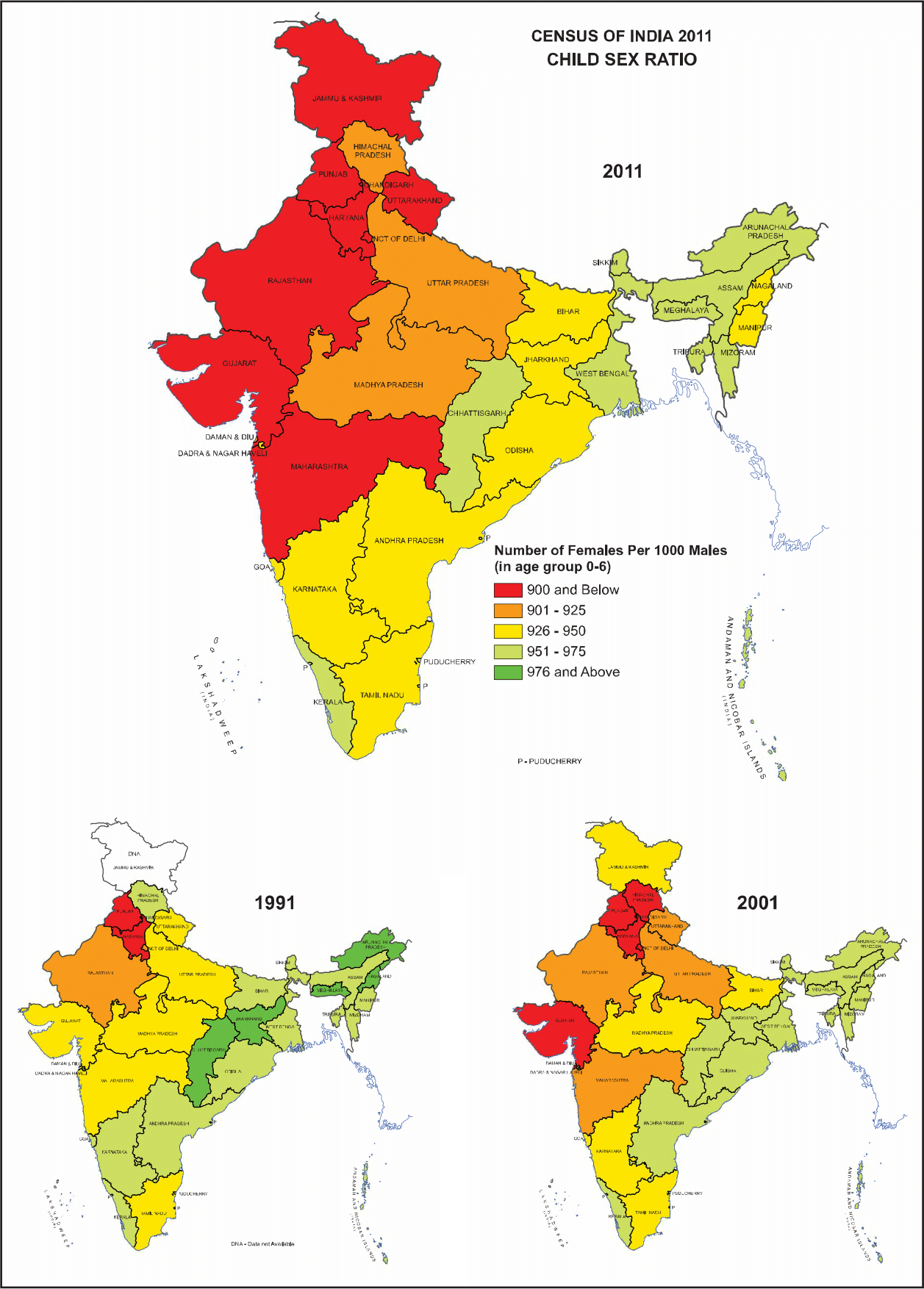 lowest sex ratio in india state wise in Scottsdale