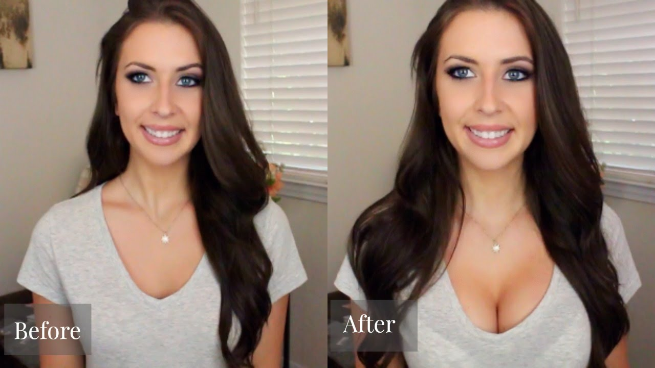 How to look like you have boobs
