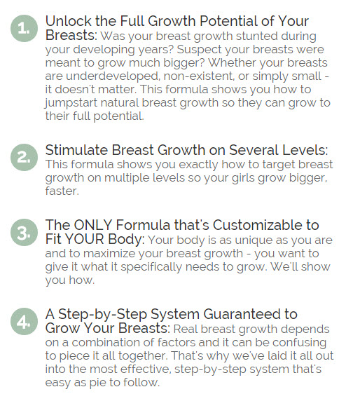 How to grow your breasts bigger and faster naturally
