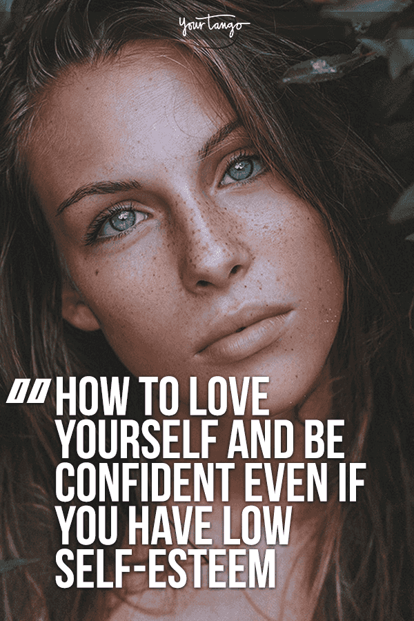 Low self esteem when it comes to dating