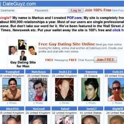 Gay dating site for free