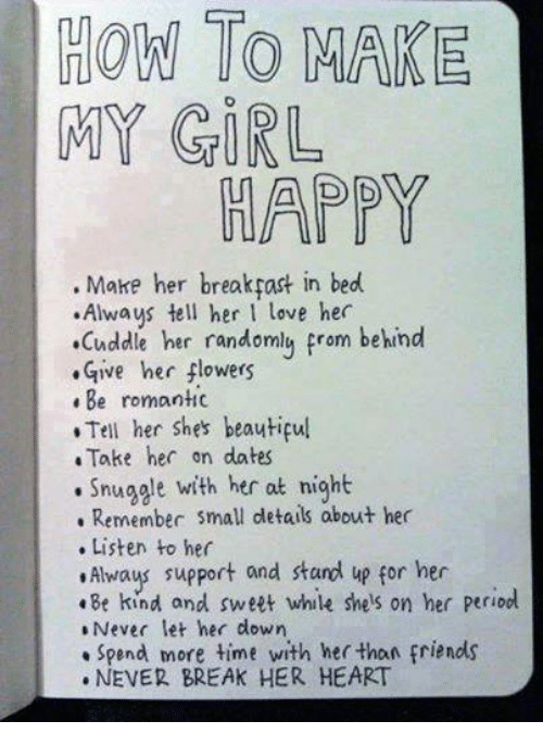How to make a girl to love