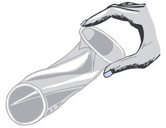 Using female condom for anal sex
