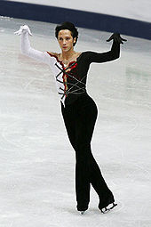 Gay male ice skaters