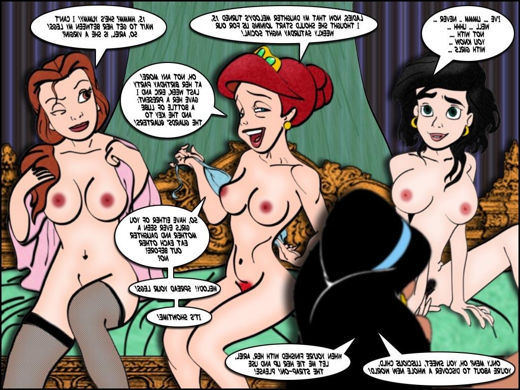 Ariel and belle porn