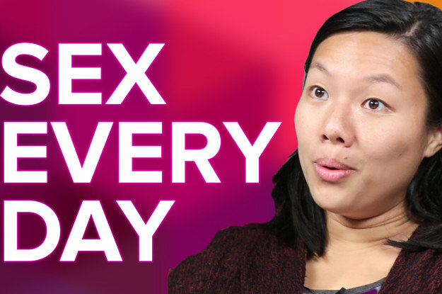 Having sex every other day