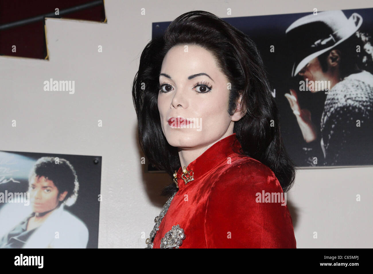 Michael jackson wax figure new york