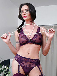 Shemale lingerie gallery