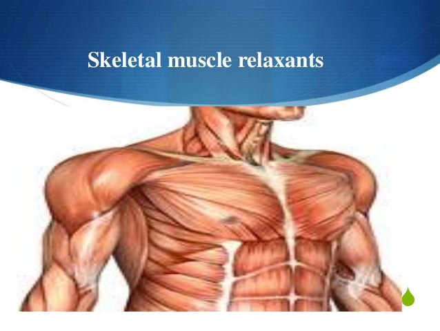 Sex with muscle relaxants