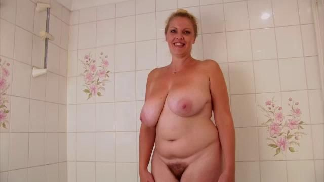 Bushy moms with swinging tits