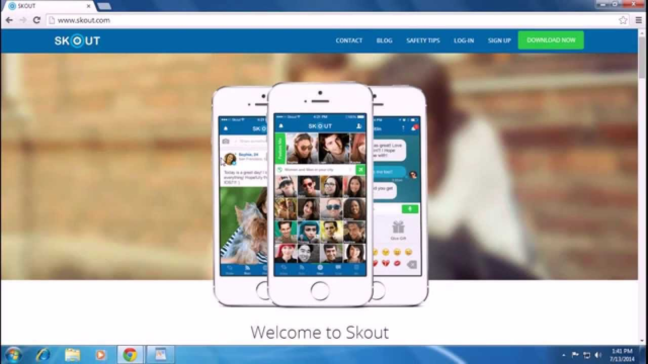 Skout sign up free