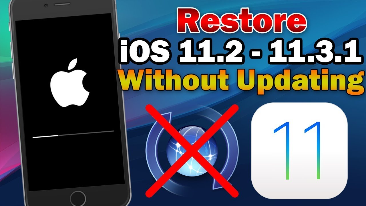 Restoring ipod touch without updating software