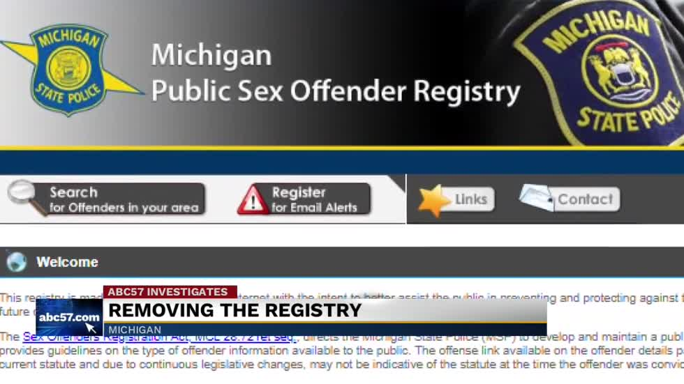 Can you be removed from sex offender registry