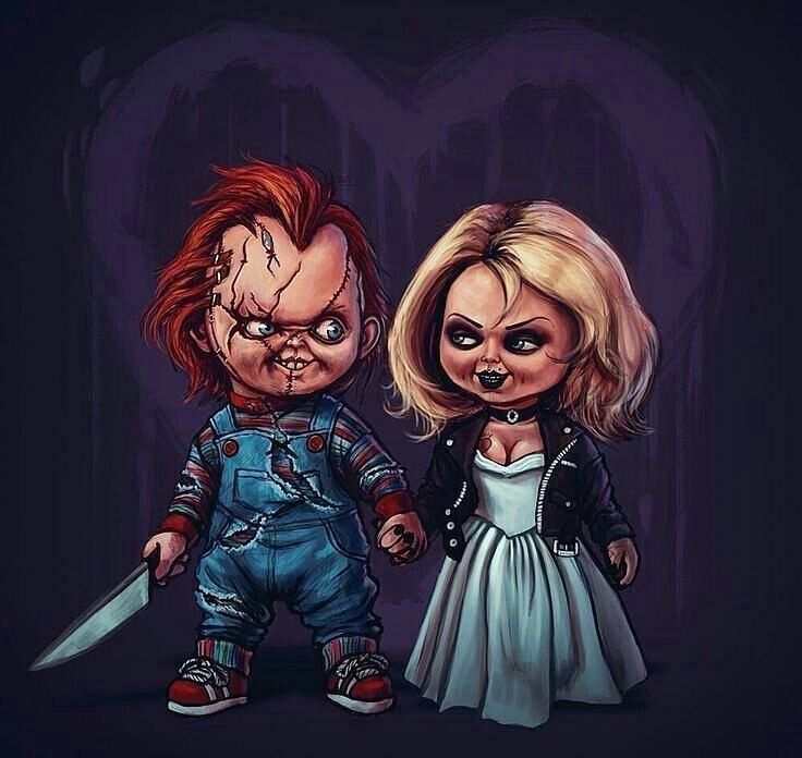 Chucky and tiffany having it