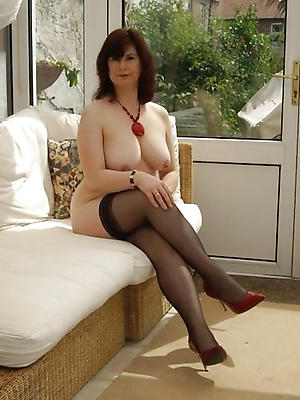 In mature sex stocking woman