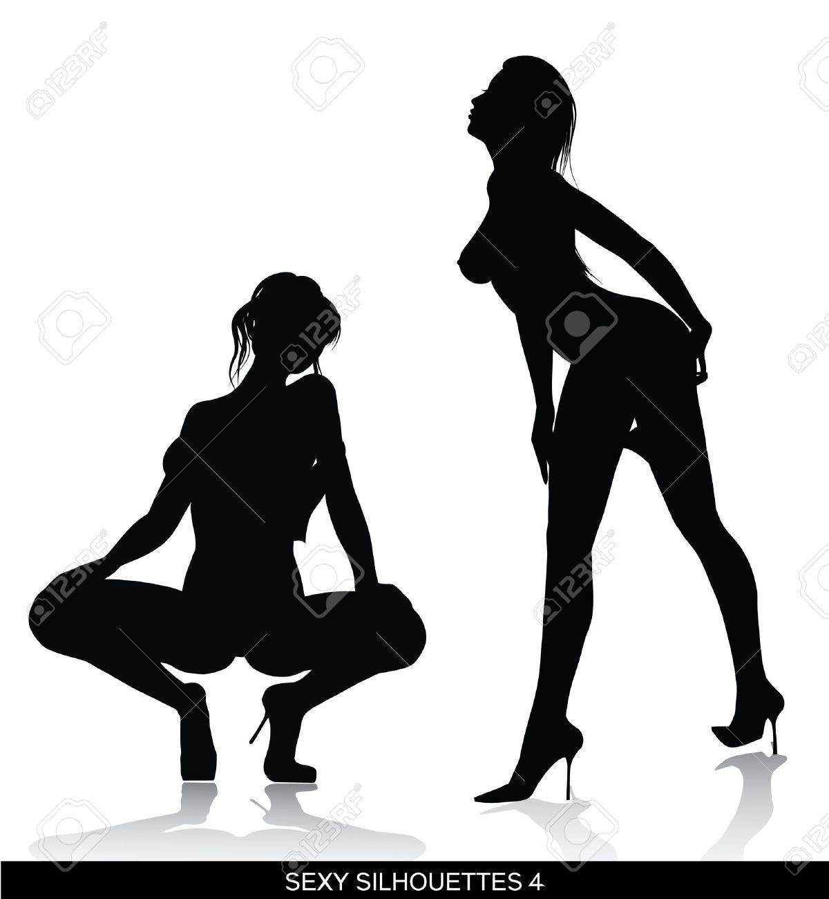 Sexy silhouette images