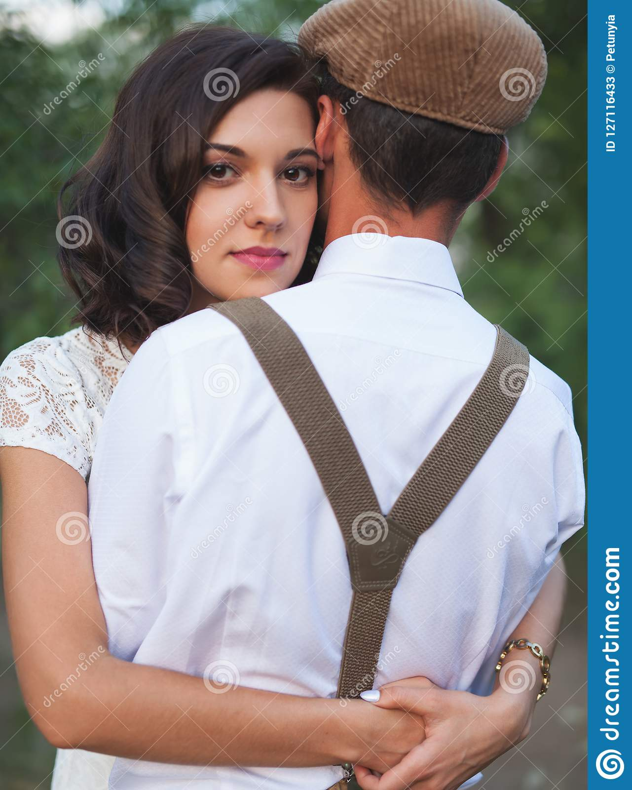 Young couple dating before marriage