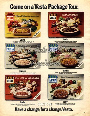 Food from the 70s and 80s