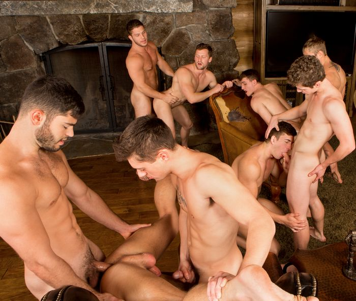 Gay men sex clubs orgies