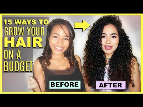 Hair growing tips for curly hair