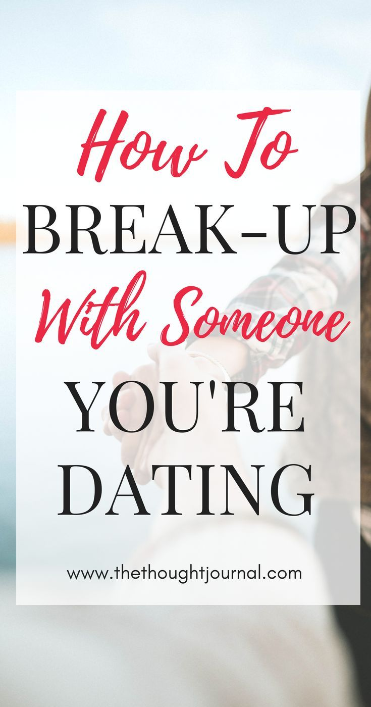 How to end a break in a relationship