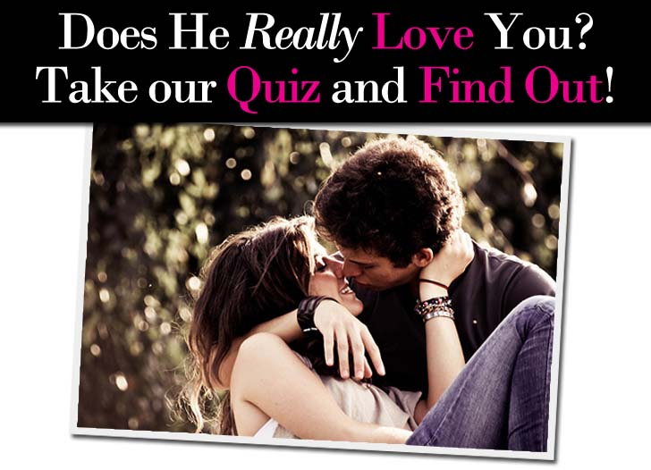 How to tell if a girl loves you quiz