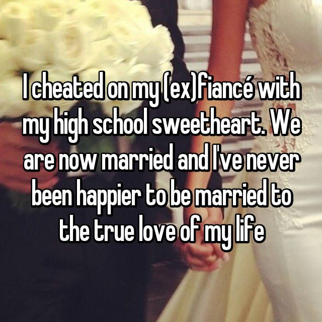 I cheated on my fiance now what