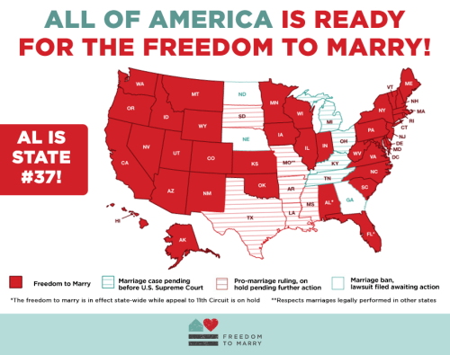Is same sex marriage legal in alabama