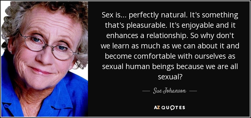 Is sex natural