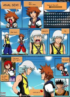 Kingdom hearts sex comics