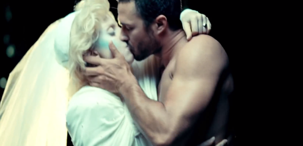 Lady gaga and taylor kinney music video